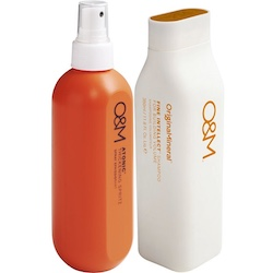 O&M sampak - Atonic Thickening Spritz + Fine Intellect Shampoo