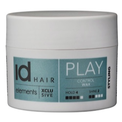 Id Hair Elements Xclusive Play Control Wax 100 ml